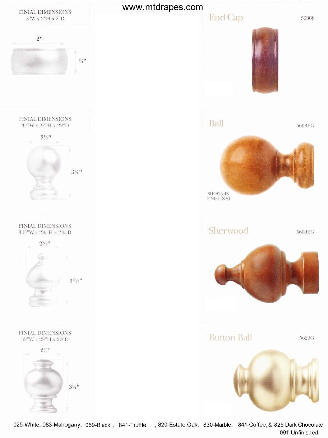 Wood Poles Wood Finials And Wood Rings New Low Price